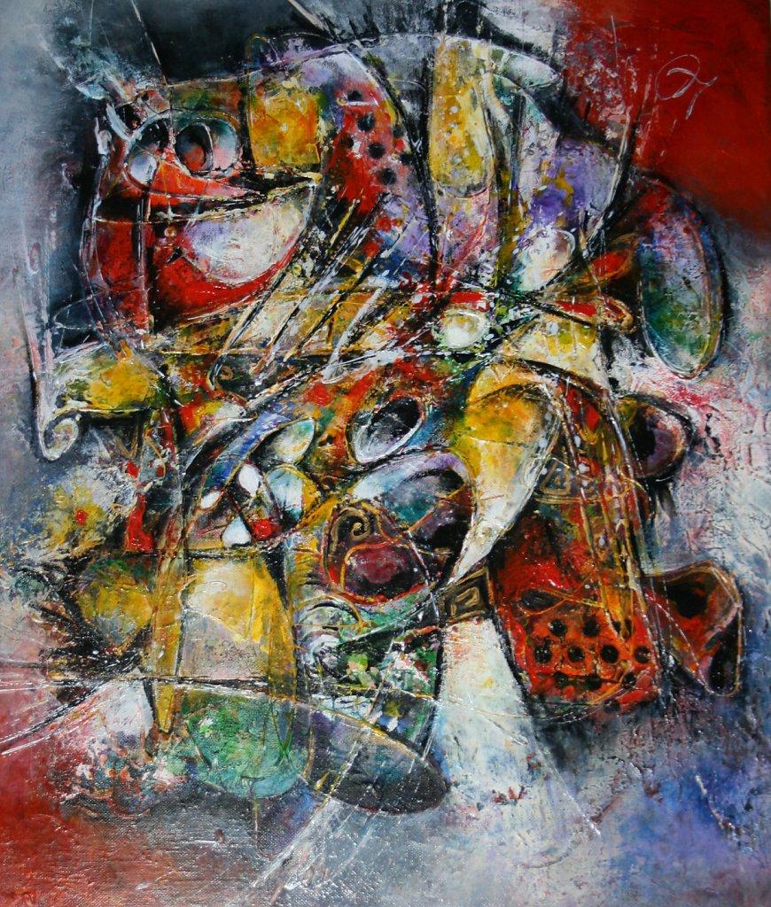 Joyeux Chaos , 65x54