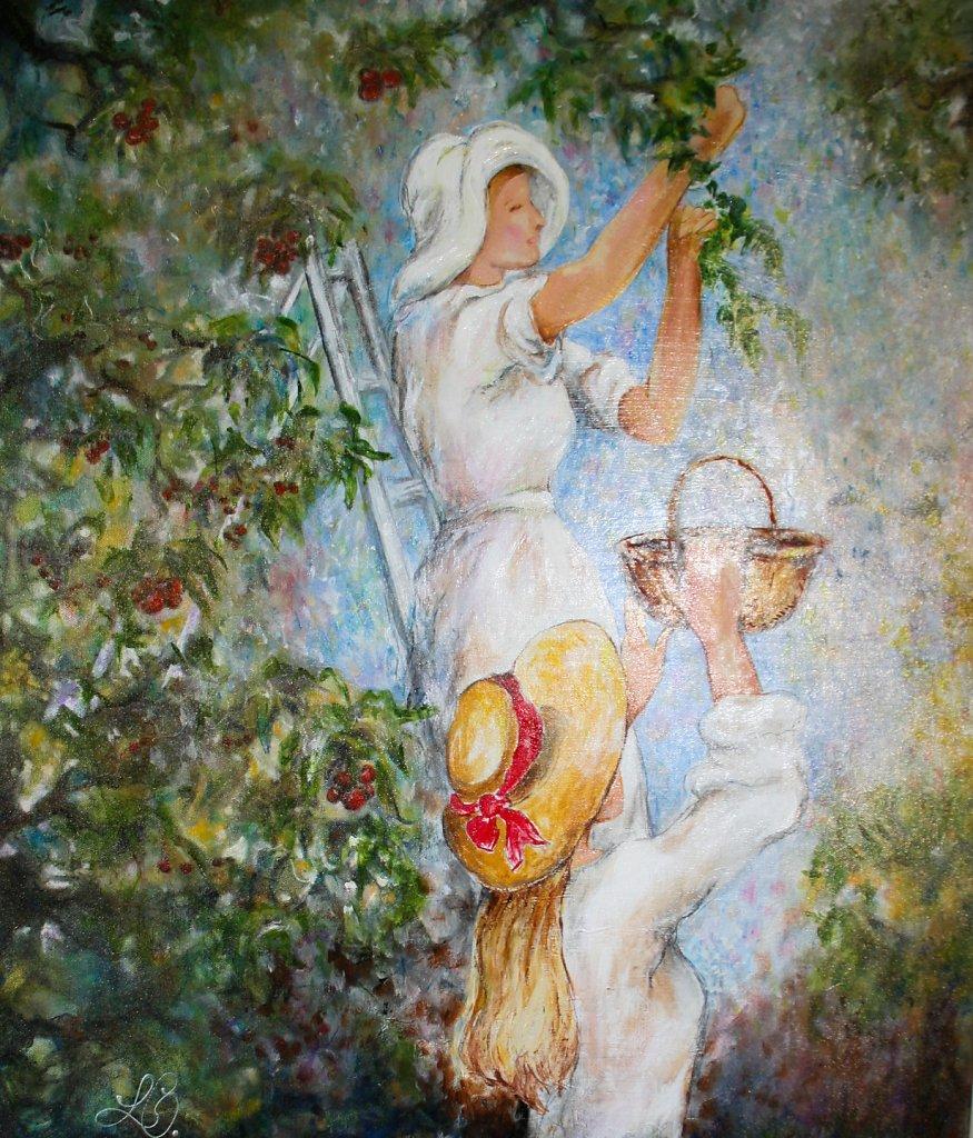 D'après Berthe Morisot, 70x50