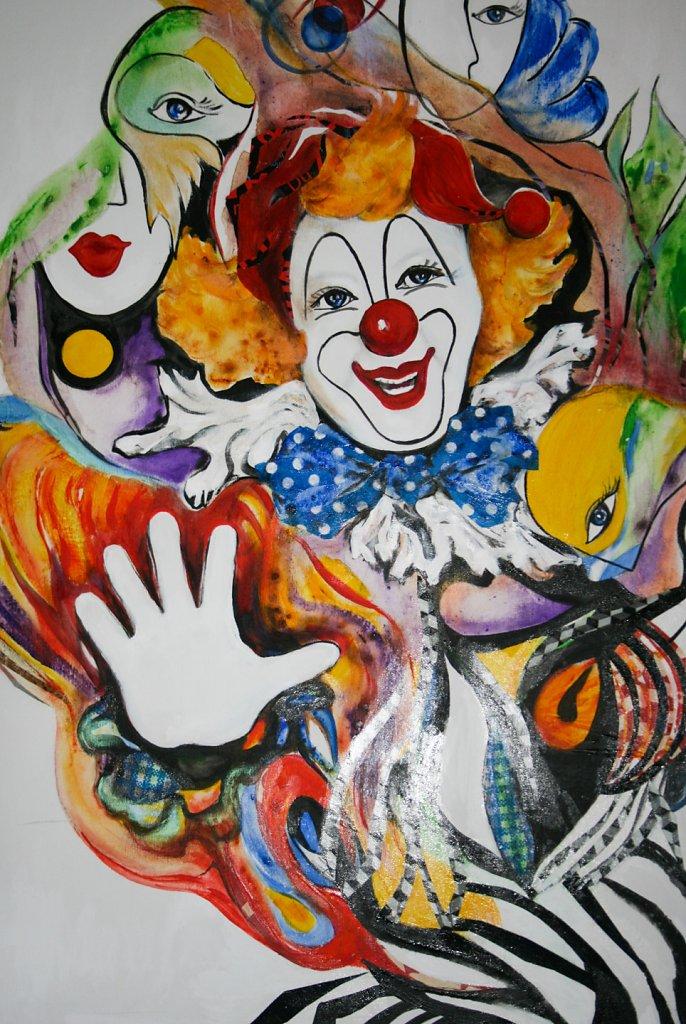 Cirque, 92x73