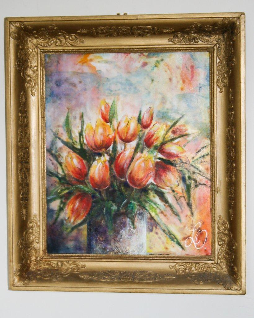 Tulipes, 55x46