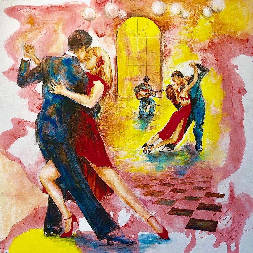 Tango Argentin, 100x100